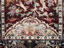 alfombra pakistani desgastado antes de teñir