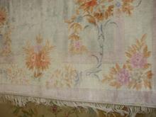 alfombra de rayon-viscosa despues de lavado