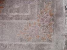 alfombra de rayon viscosa sucia- seda artificial