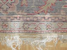 alfombra turca restaurada
