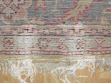 alfombra turca despues de restauración de roturas