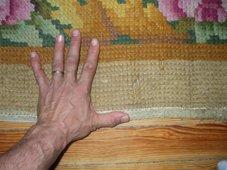 La mano de Jamshid y una alfombra española antigua